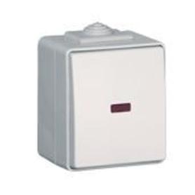 Botão Estanque Luz Efapel 48152 - EFA-IP65BOT01