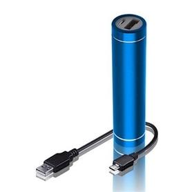 POWER BANK 2.300MAH FOREVER PB-010 TUBE BLUE - 1802.0224