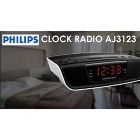 RADIO RELOGIO PHILIPS AJ3123 - 1803.0801