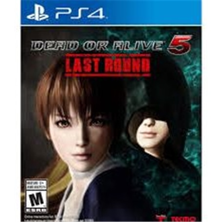 JG PS4 DEAD OR ALIVE 5 LAST ROUND - 1502.1203