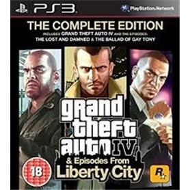 JG PS3 GRAND THEFT AUTO IV: COMPLETE EDITION - 5026555405645
