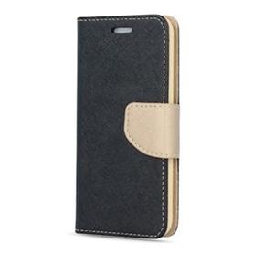 BOLSA LIVRO SAMSUNG S9 SMART FANCY BLACK-GOLD - 1803.1414