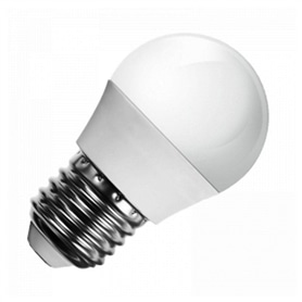 Lâmpada E27 G45 Lustre LED 3w Branco Quente - 1803.1551