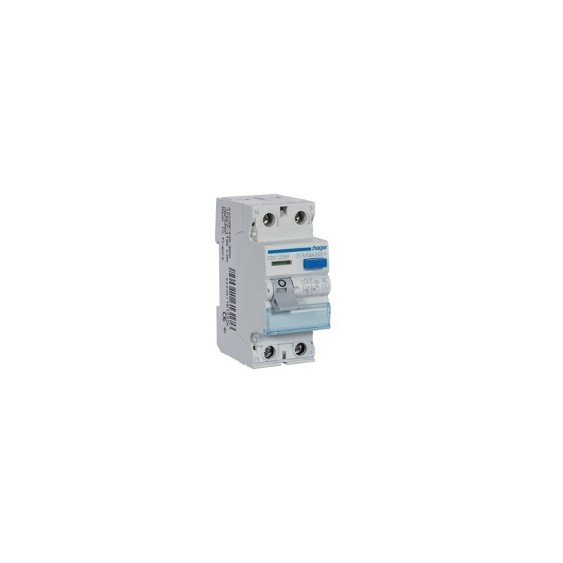 6ab520491cd Interruptor Diferencial 2x25A 30mA Hager CDC-225P - MATERIAL ...