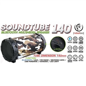 COLUNA TRANSPORTAVEL AMPLIFICADA REBELTEC SOUNDTUBE 140 - 1804.1999