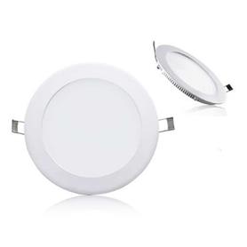 Projector Encastrar Redondo Branco LED 09w Branco Quente - 1804.2750