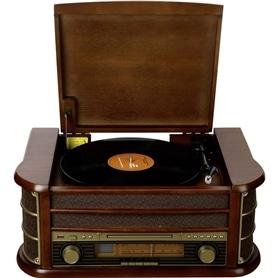 HIFI GIRA DISCOS+CASSETE+CD+RADIO+USB DENVER MCR-50 MADEIRA - 1804.2794