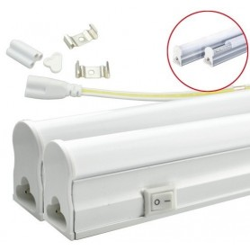Armadura T5 LED 60cm Branco Frio - 1805.1650
