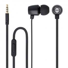 PHONES STEREO COM MICROFONE FOREVER METAL MSE-100 BLACK - 1805.1703