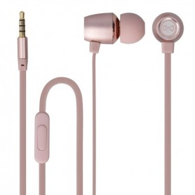 PHONES STEREO COM MICROFONE FOREVER METAL MSE-100 ROSE-GOLD - 1805.1704