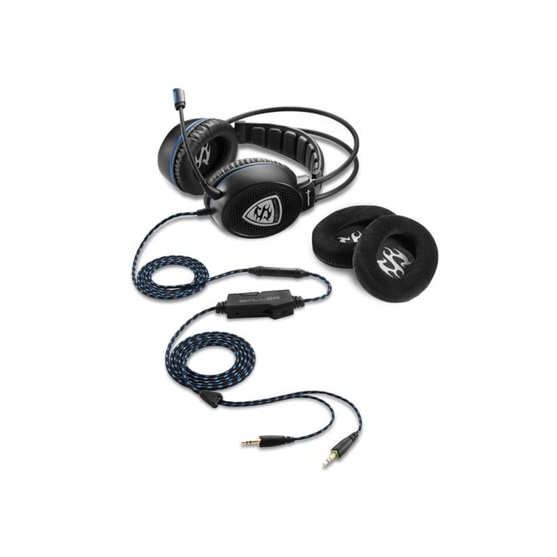 HEADSET GAMING 3,5MM SHARKOON SKILLER SGH1 - 1805.1893