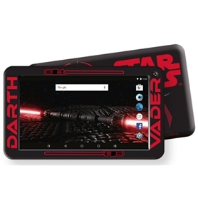 "TABLET WIFI 7"" ESTAR 8GB : BLACK STAR WARS - OFERTA BOLSA ! - 1806.1201"