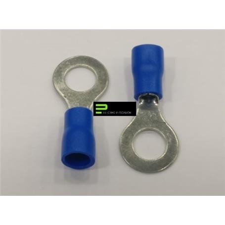 Terminal Olhal Isolado 6,5mm Azul - 57100