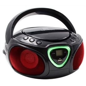 RAD+CD+USB LAUSON CP452 PRETO BOOMBOX PARTY LIGHTS - 1806.1998