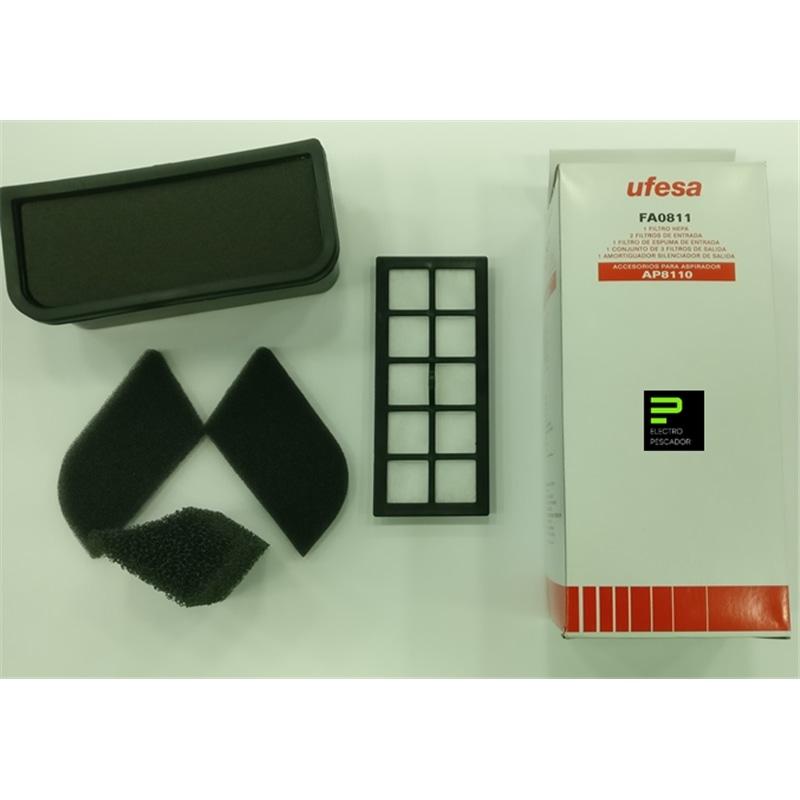 Ac. Ufesa - Kit Filtros FA0811 para Aspirador AP8110 - UFE-ACESSORIO03