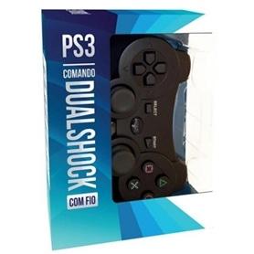 PS3 COMANDO PAD COM FIO INDECA - 1805.2986