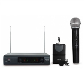 MICRO PRO S/FIO VHF 2x FONESTAR MSH-209 LAPELA + MÃO - 1807.1287