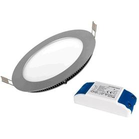 Projector Encastrar Redondo Inox LED 6w Branco Frio - 1809.0152