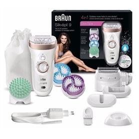 Depiladora Braun Silk Epil 9 + Massagem + Esfoliação 9-961V - 1809.0699