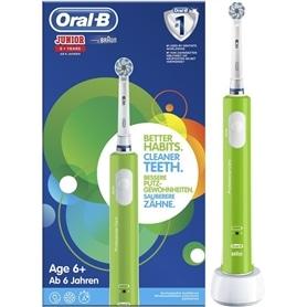 Dental Braun infantil Oral B Junior verde - 1810.0496