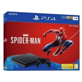 CONSOLA PS4 PLAYSTATION 4 SLIM 1TB + SPIDERMAN - 1810.0399