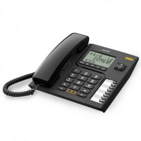 TELEFONE COM FIO ALCATEL T76 PRETO - 1810.1801