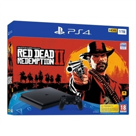 CONSOLA PS4 PLAYSTATION 4 SLIM 1TB + RED DEAD REDEMPTION II - 1810.3190