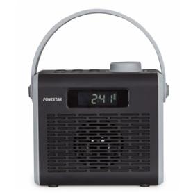 RADIO FONESTAR R2-N C/BLUETOOTH E BATERIA PRETO - 1811.1499