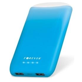 POWER BANK  COM LANTERNA 8.000MAH FOREVER TB-011 BLUE - 1811.2601