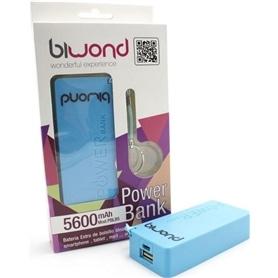 POWER BANK  5.600MAH X BIWOND AZUL - 1811.2305