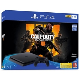 CONSOLA PS4 PLAYSTATION 4 SLIM 1TB + CALL OF DUTY BLACK OPS - 1812.0499