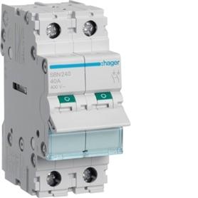 Interruptor Modular 2P - 40A - HAG-SB240