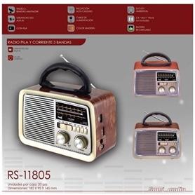 RADIO COM COLUNA /USB/MICRO SD/AUX IN SAMI RS-11805 VINTAGE - 1812.1002