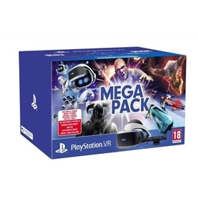 CONSOLA PLAYSTATION VR + CAMERA + 5 JOGOS MEGAPACK - 1812.1099