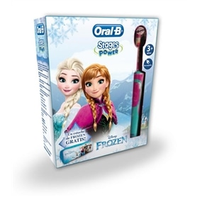 Dental Braun infantil Oral B Vitality stages: Frozen+ESTOJO - 1609.0706