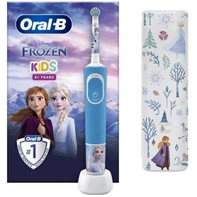 Dental Braun infantil Oral B Vitality stages: Frozen+ESTOJO - 1609.0706