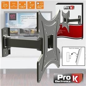 """SUPORTE LCD: 3 PONTOS AJUSTE 13""""-42"""" 25KG PROK FX210 - 1901.1450"""