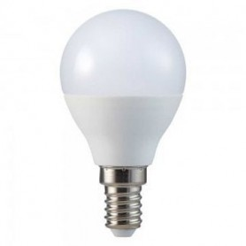 Lâmpada E14 P45 Gota LED 5w Branco Quente - 1903.0851