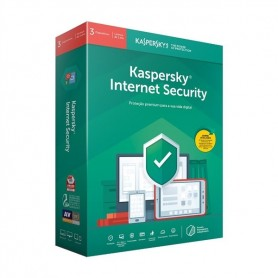 ANTI-VIRUS KASPERSKY  INTERNET SECURITY 3 USERS - 1 ANO - 1903.2098