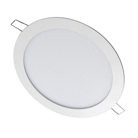 Projector Enc. Redondo Branco LED18w Branco Frio Light Space - 1904.1150