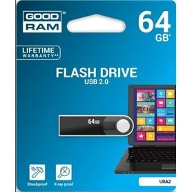 USB DISK PEN DRIVE 64GB - USB 2.0 GOODRAM - 1904.3003