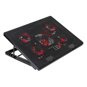 BASE PORTATIL VENTILADA MARS GAMING MNBC2 PRETO - 1906.0551