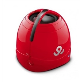 COLUNA MINI AMPLIFICADA GO GEAR SOUND DOME GPS1500 RED - 1906.2502