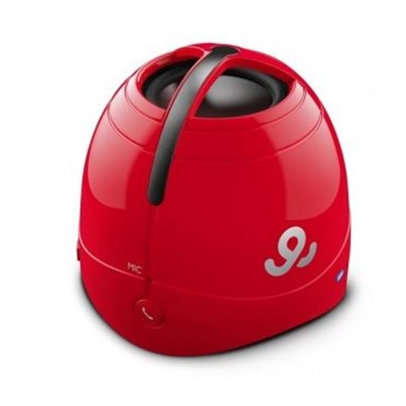 COLUNA MINI AMPLIFICADA GO GEAR SOUND DOME GPS1500 RED - 1906.2502