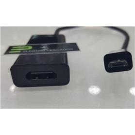 ADAPTADOR MHL: HDMI FEMEA - MICRO USB MACHO - 1707.1397