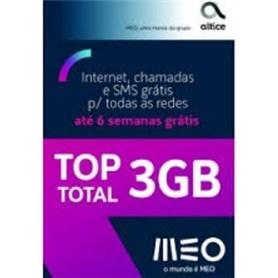 CARTAO TLM MEO TOP TOTAL  3G DE INTERNET - 1805.2399