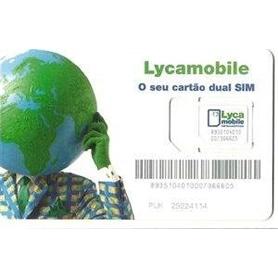 CARTAO TLM LYCAMOBILE 0 EUROS CHAMADAS ## - 1410.1801