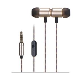 PHONES STEREO COM MICROFONE FONESTAR X4-D DOURADO - 1710.2494
