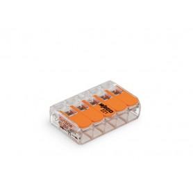 Ligador Rapido Wago 222-415 5x0,08-2,5mm - LIGADOR-WAGO04