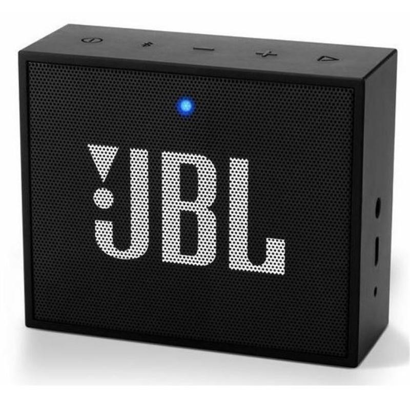 COLUNA MINI AMPLIFICADA BLUETOOTH   3W JBL GO+ BLACK - 1812.2696